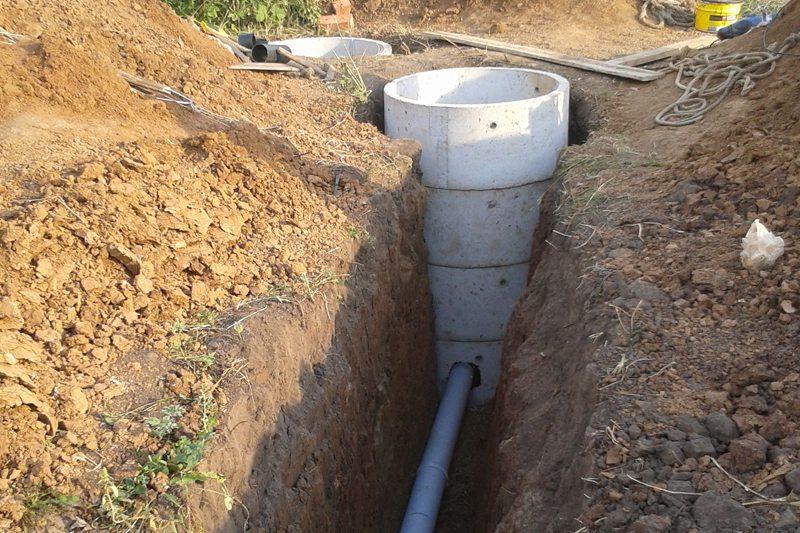 glubina zalozheniya kanalizatsionnyh trub