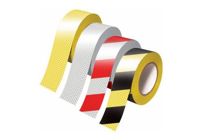 reflective hazard warning pvc tape