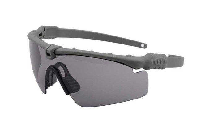 schutzbrille ultimate tactical grau getoent
